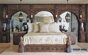 19th-century-indian-antique-bed-spider-india